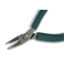 Остроконечные кусачки Erem 570E, прямая удлиненная с выемкой головка