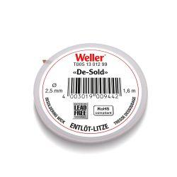 Оплетка для выпайки Weller 1,6 м, 2,5 мм