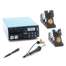 Двухканальная цифровая станция Weller WR 2002 Set