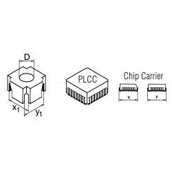 Головка Weller CSF-QI  для выпайки 20,4 х 20,4 мм