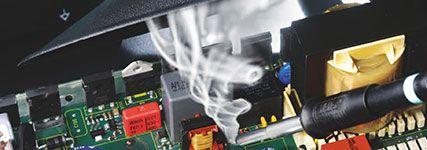 Дымоудаление и фильтрация