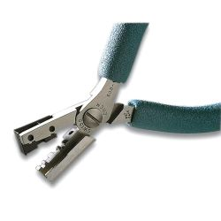 Weller 500104A. Forming pliers suitable for bending components of Series TO 126, 218, 220 and power transistors through 90° in two rows, 3 connections